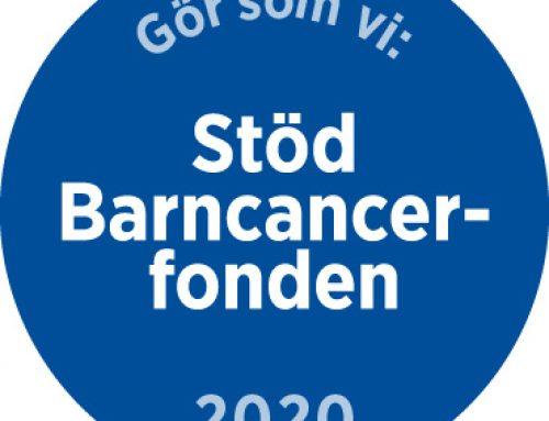 Bättre kvalitet och 1800 SEK till Barncancerfonden